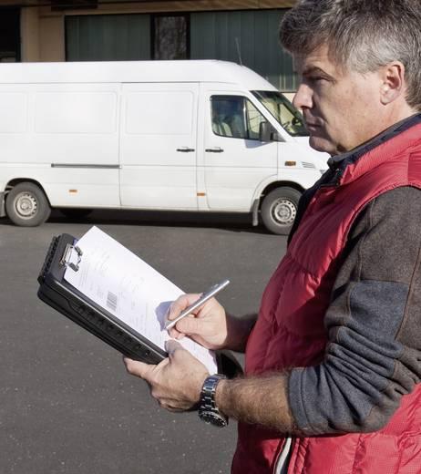 Klembord voor documenten, met opbergvak 410 mm x 260 mm x 35 mm