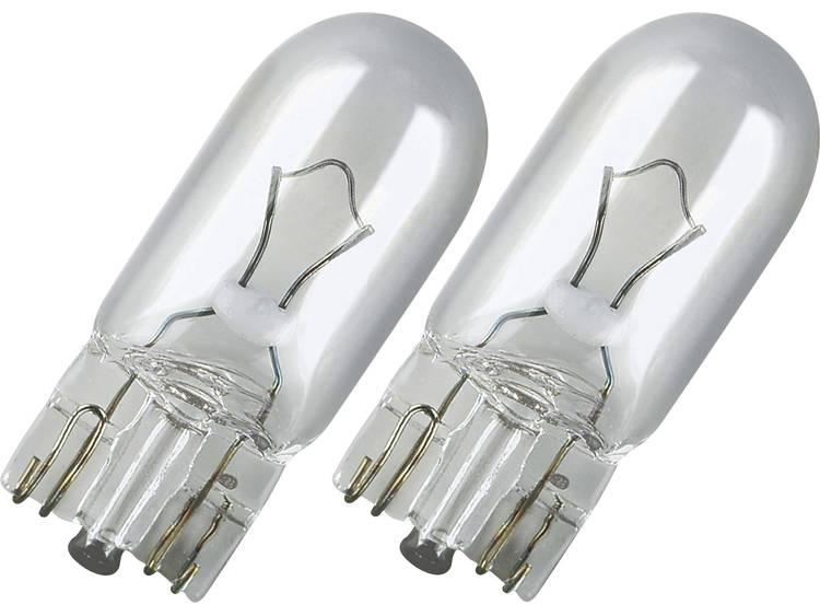 OSRAM Glasfittinglamp W3W 12 V 1 paar W2,1x9,5d