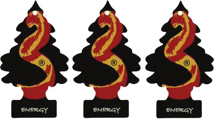 Image of Wunder-Baum Geurkaart Energy 3 stuks