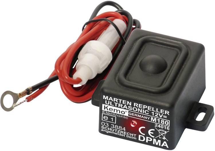 Kemo M180 Marterverschrikker Met flitslicht. Waterdicht 12 V 1 stuks