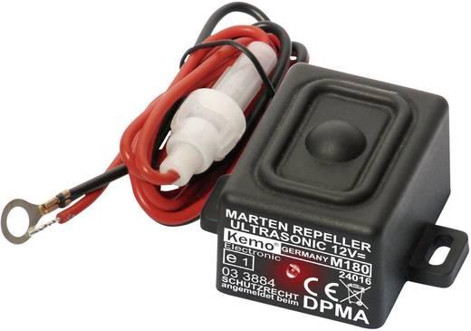 Marterverschrikker Kemo M180 Met flitslicht, Waterdicht 12 V 1 stuks