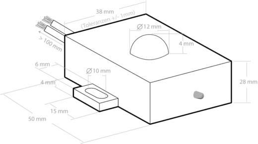 Marterverschrikker Kemo M180 M180 Met flitslicht, Waterdicht 12 V 1 stuks