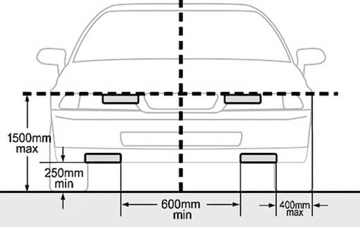 Dagrijlicht LED (Ø x d) 90 mm x 36 mm DINO 610795