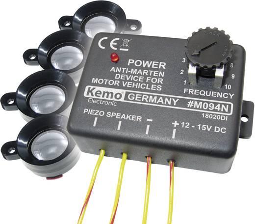 Marterverschrikker Kemo M094 Met flitslicht, Met luidspreker 12 V 1 stuks