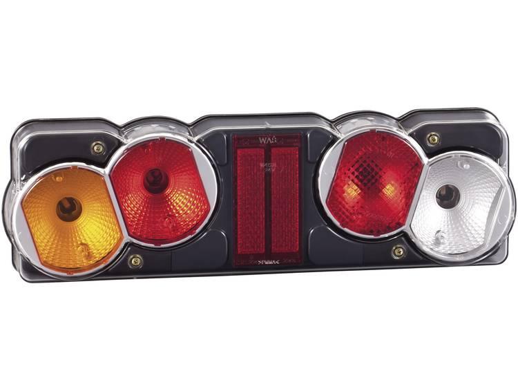 Gloeilamp Vrachtwagenachterlicht Knipperlicht, Remlicht, Achterlicht, Achteruitrijlicht, Mistachterlicht, Reflector links 12 V, 24 V SecoRüt Helder glas