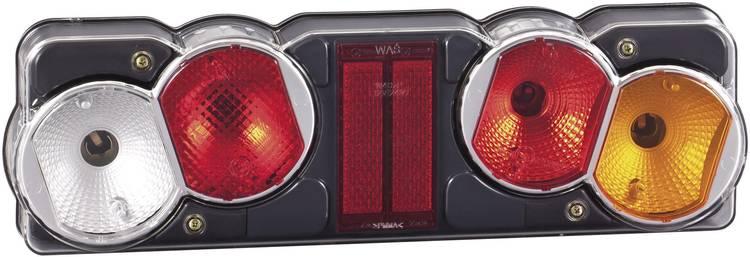 Gloeilamp Vrachtwagenachterlicht Knipperlicht. Remlicht. Achterlicht. Achteruitrijlicht. Reflector rechts 12 V. 24 V SecoRut Helder glas