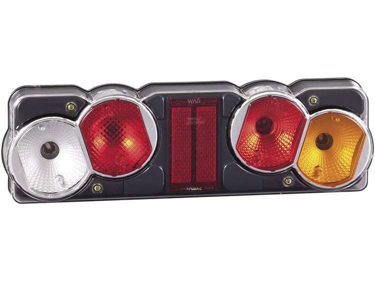 Gloeilamp Vrachtwagenachterlicht Knipperlicht, Remlicht, Achterlicht, Achteruitrijlicht, Reflector rechts 12 V, 24 V SecoRüt Helder glas