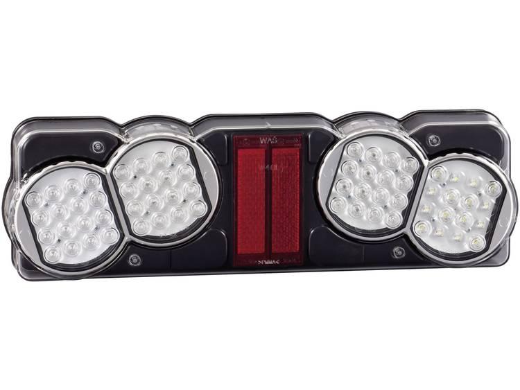 LED Vrachtwagenachterlicht Knipperlicht, Remlicht, Achterlicht, Achteruitrijlicht achter, links 24 V SecoRüt Helder glas