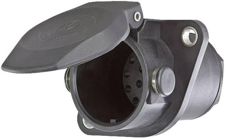 Image of Aanhangerstopcontact [Stekkerdoos, 15-polig - Stekker, 15-polig] SecoRut 40120 ABS kunststof