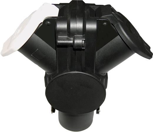 SecoRüt 15-polige 24 V adapter op 2x 7-polig stopcontact type N en S