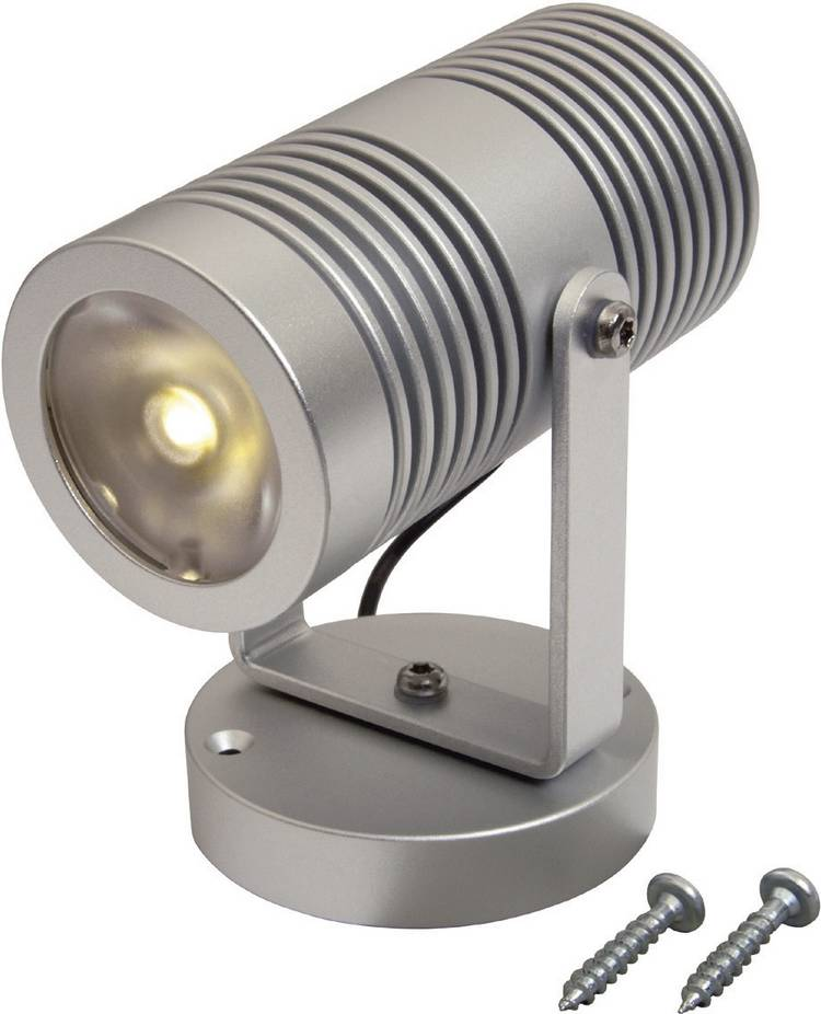 Image of ProCar 57421612 LED interieurverlichting 12 V, 24 V LED (Ø x h) 24 mm x 80 mm Draaibaar, Zwenkbaar, Schakelaar