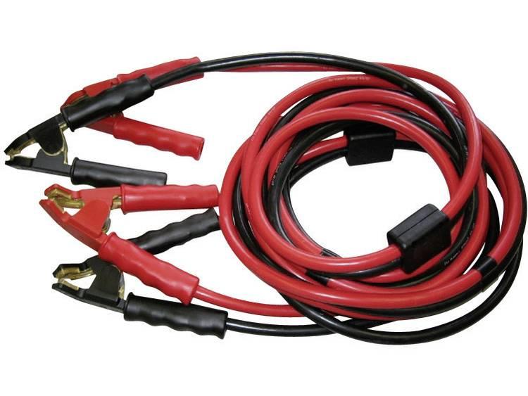 SET® Startkabel 50 mm² 7 m met geïsoleerde accuklemmen, met haakse, messing klemmen Koper TS 700