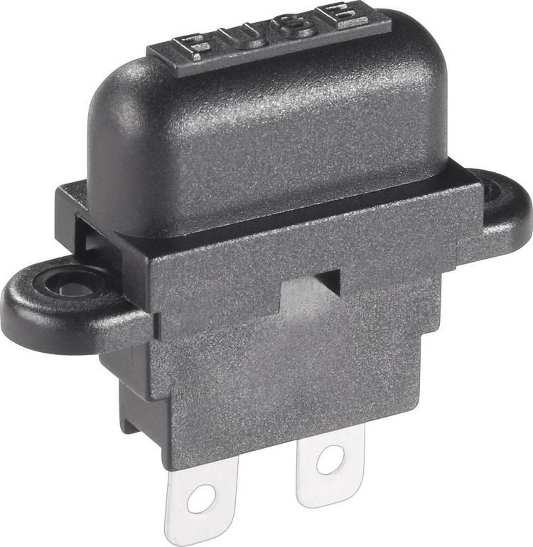 Image of Basetech Steekzekeringhouder (auto) Platte zekering standaard Aantal polen 1 30 A 1 stuks