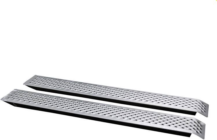 Unitec 10320 Oprijsteunen 400 kg Aluminium 150 cm x 21.5 cm x 3.5 cm