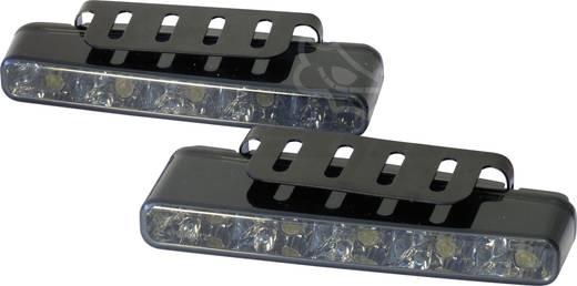 Dagrijlicht LED (b x h x d) 160 x 25 x 55.1 mm Devil Eyes 610765 Super Platt Svartglass