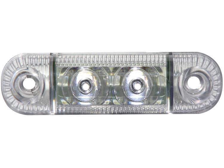 LED Markeringslicht Markeringslicht zijkant 12 V, 24 V Wit SecoRüt Helder glas