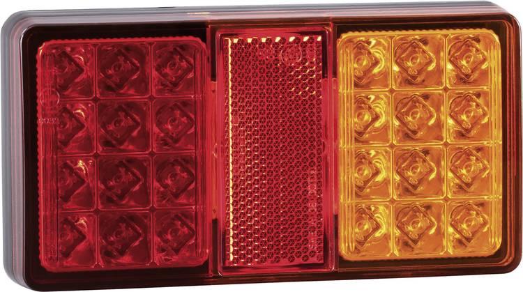LED Aanhangerachterlicht Remlicht. Reflector. Knipperlicht. Achterlicht links. rechts 12 V. 24 V SecoRut Helder glas