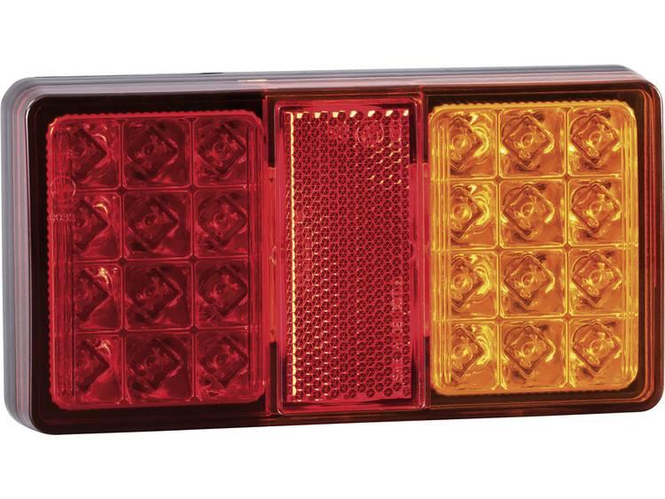 LED Aanhangerachterlicht Remlicht, Reflector, Knipperlicht, Achterlicht links, rechts 12 V, 24 V SecoRüt Helder glas
