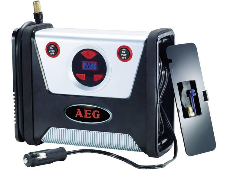 AEG Compressor 97136 7 bar Digitaal display, Automatische afschakeling, Snoeropbergruimte opname, Met werklamp
