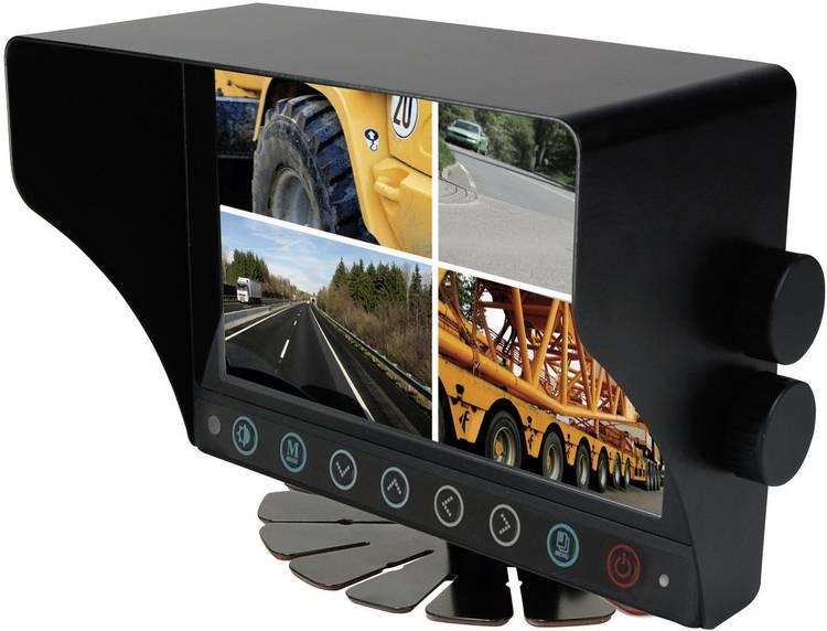 Camos CWM-700 Monitor 4 camera-ingangen Opbouw