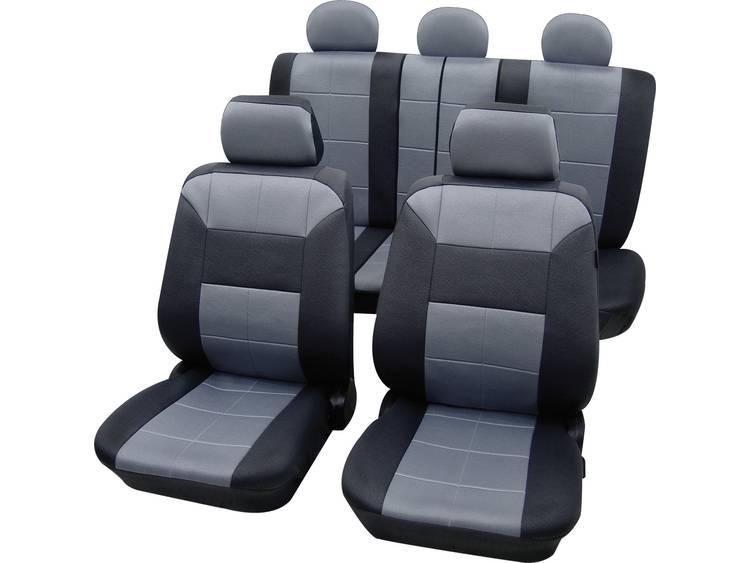Petex 22574918 Dakar SAB 1 Vario Plus Autostoelhoes 17 delig Polyester Grijs, Zwart