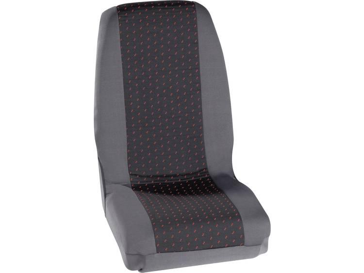 Petex 30070012 Profi 1 Autostoelhoes 4 delig Polyester Rood, Antraciet Bestuurder, Passagier