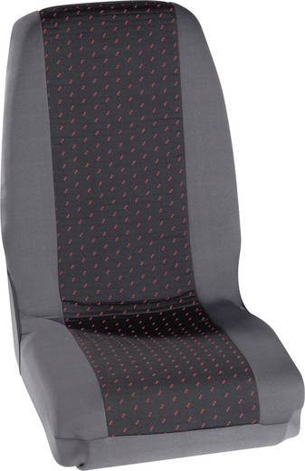 Autostoelhoes 4-delig Petex 30070012 Profi 1 Polyester Rood, Antraciet Bestuurder, Passagier