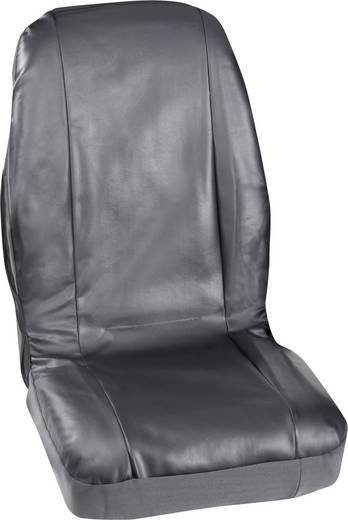 Petex Set stoelbekleding Profi 4 Zwart Kunstleer