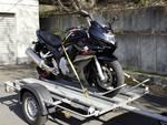 Bevestigingssysteem voor motorfietsen 4-delig
