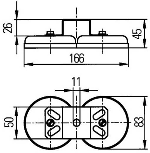 Hella 8HG 004 806-001 Magneetvoethouder