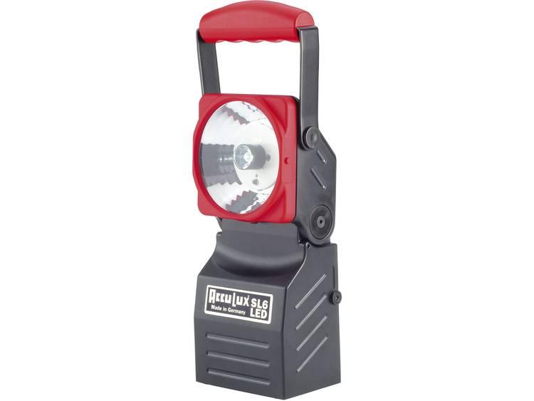 AccuLux AccuLux werk- en noodstroomschijnwerper SL6 LED Zwart, Rood 456541 3 W Power-LED, pilootlamp