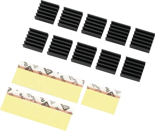 Werkgeheugen koeler Akasa AK-VMC01-BK (l x b x h) 13 x 13 x 4 mm