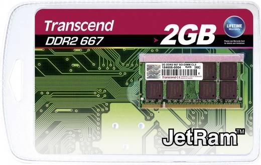 Transcend JetRam JM667QSU-2G 2 GB DDR2-RAM Laptop-werkgeheugen module 667 MHz 1 x 2 GB