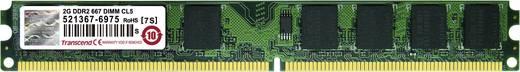 Transcend JetRam JM667QLU-2G 2 GB DDR2-RAM PC-werkgeheugen module 667 MHz 1 x 2 GB