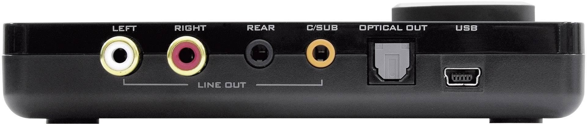 Wonderbaarlijk 5.1 Externe geluidskaart Sound Blaster SoundBlaster X-FI Surround TU-72