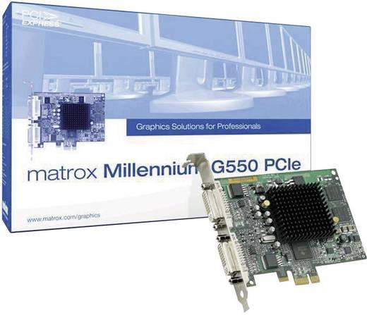 Workstation-videokaart Matrox G550 32 MB DDR-RAM PCIe x1 DVI
