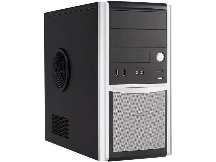 Joy-it 874049 Midi-Tower PC AMD FX FX-4300 4 GB 500 GB HDD Zonder besturingssysteem AMD Radeon HD3000