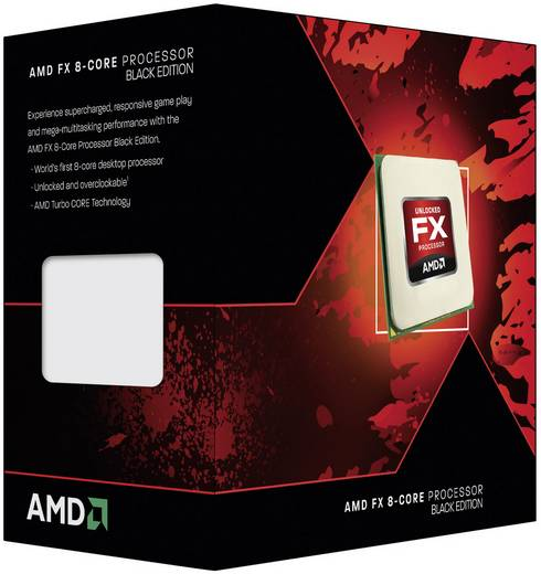 AMD FX-8350 Octa Core 8 x 4.0 GHz Processor (CPU) boxed Socket: AMD AM3+