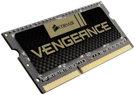 Corsair Vengeance CMSX8GX3M1A1600C10 8 GB DDR3-RAM Laptop-werkgeheugen module 1600 MHz 1 x 8 GB