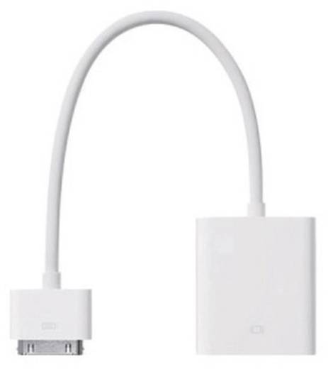 Adapter Apple iPad/iPhone/iPod [1x Apple dock-stekker - 1x VGA bus] 0.15 m