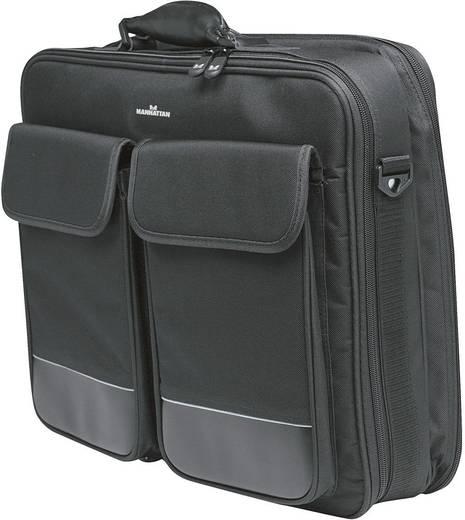 """Manhattan Laptoptas Big Apple Geschikt voor maximaal (inch): 43,9 cm (17,3"""") Zwart"""