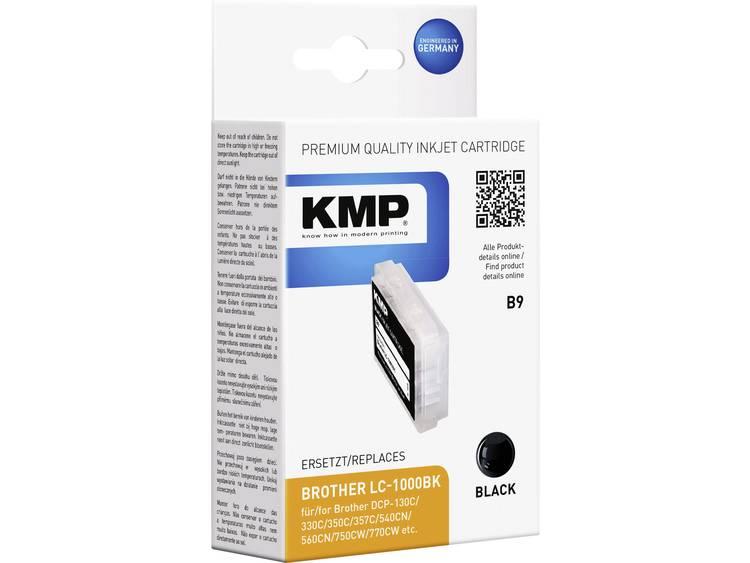 KMP Inkt vervangt Brother LC 1000 Compatibel Zwart B9 10350001