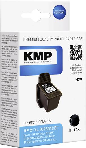 KMP Inkt vervangt HP 21 Compatibel Zwart H29 1900,4211