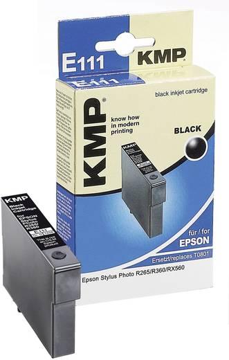 KMP Inkt vervangt Epson T0801 Compatibel Zwart E111 1608,0001