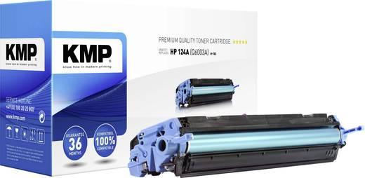 KMP Tonercassette vervangt HP 124A, Q6003A Compatibel