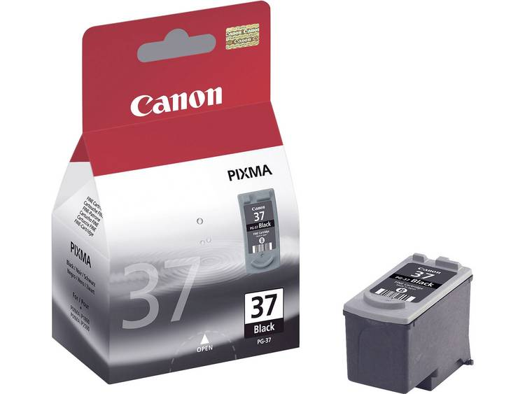 Canon Inkt PG-37 Origineel Zwart 2145B001