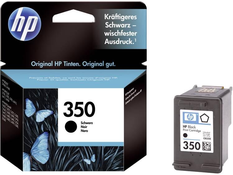 HP Inkt 350 Origineel Zwart CB335EE