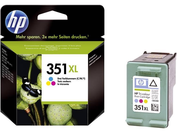 HP Cartridge 351XL Cyaan, Magenta, Geel