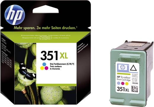 HP Cartridge 351XL Cyaan, Magenta, Geel