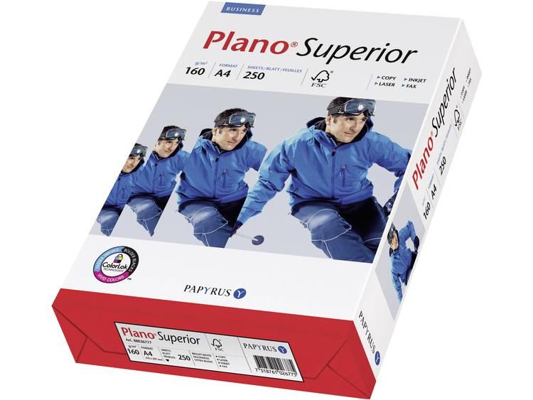 Papyrus Plano Superior Printpapier DIN A4 160 g-m² 250 vellen Wit